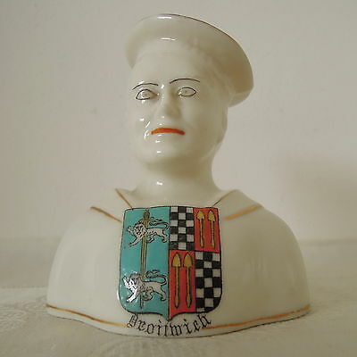 Crested China Sailor Crest of Droitwich by Swan China