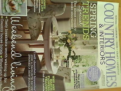 Vintage Country Homes  And Interiors Magazine March 2012