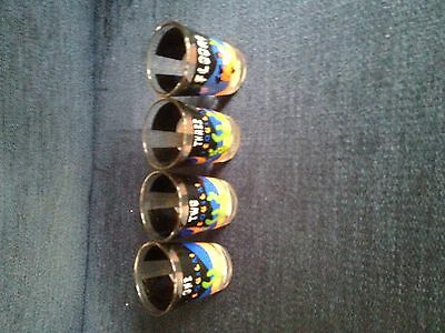 Novelty Mexican Tequila Shot Glasses - Set of 4