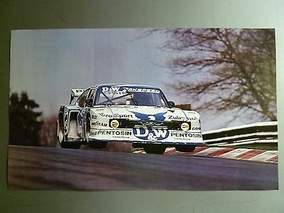 1983 Group 5 Ford Capri Race Car Print, Picture Poster RARE!! Awesome L@@K