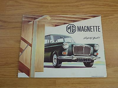 MG Magnette Car brochure Free P and P