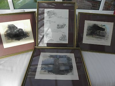 David Shepherd Limited Edition Guildford Shed Train Prints