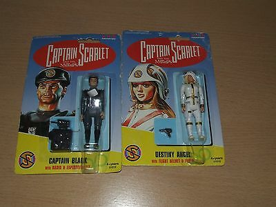 Captain Scarlet Figuers Carded