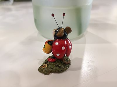 Lady Bug-o-Boo M-272  was sculpted by Donna Petersen WEE FOREST FOLK