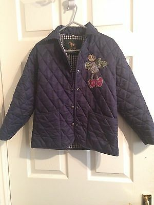 Girls Campbell Copper Quilted Jacket Size 30