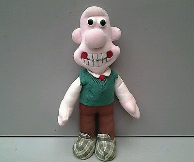 Wallace and gromit soft toy