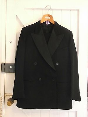 "Cc41, Utility Marked Men's Dinner Suit In Vgc , 40"" Chest"