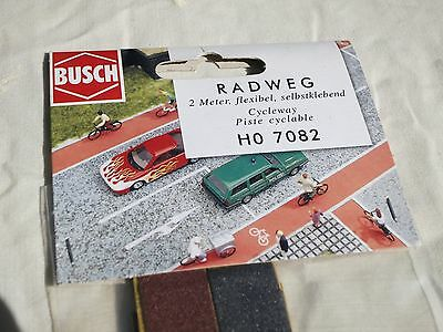 Busch Railway Scenic Series Cycle Lanes HO7082 2 M