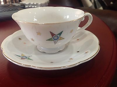 Temple Treasures Star Tea Cup And Saucer