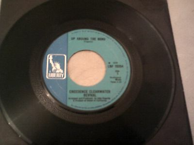 """Creedence Clearwater Revival 7"""" Up Around The Bend Liberty Lbf 15354"""