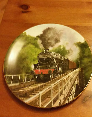 """Decorative Collector Railwayana Plate """"Limited Edition"""""""