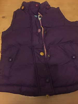 Little Joules Body Warmer 7 Years Girls