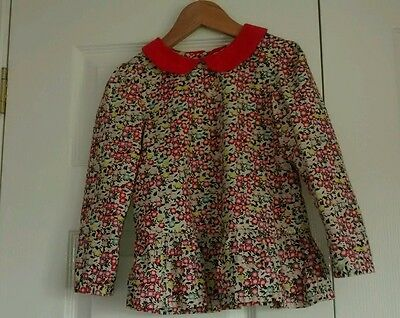 Girl's floral blouse from Boots size 3-4 years