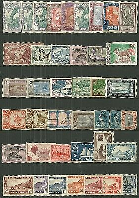 FRENCH COLONIES A collection of (41) stamps