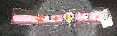 Girls Betty Boop watch with rubber wrist band