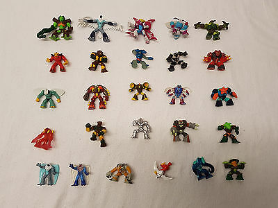 Fantastic Collection Of Gormiti Action Figures, 26 Figures In Great Condition N1