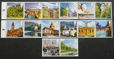 2012 A-Z Of United Kingdom Unmounted Mint Stamp Set Mnh