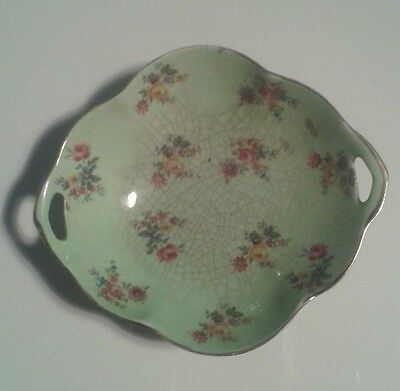 ROYAL WINTON fine English porcelain bowl with flower pattern