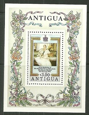 ANTIGUA A mint Miniature Sheet 1980