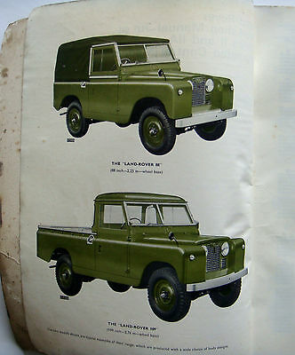 Land Rover OE Workshop Manual for Series 11 &11A.  Part One.