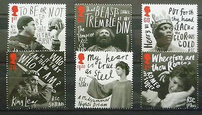 2011 Shakespeare Festival Unmounted Mint Stamp Set Mnh