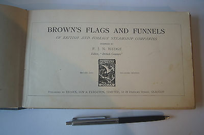 Brown's Flags and Funnels - 1929 edition