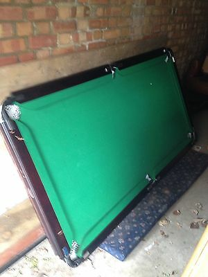 Snooker/Pool Table 6ft X 4ft