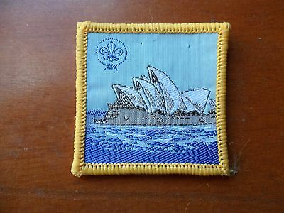 Sydney Opera House Scout Cloth Badge