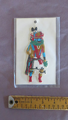 Patch:  Devil's Claw (Tumoala) Kachina