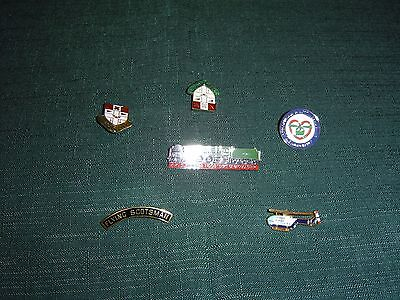 Railway Pin/lapel Badges