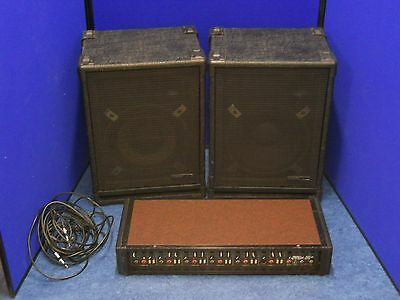 150 watt PA amp speakers SOUND SYSTEM london public address DJ amplifier mixer