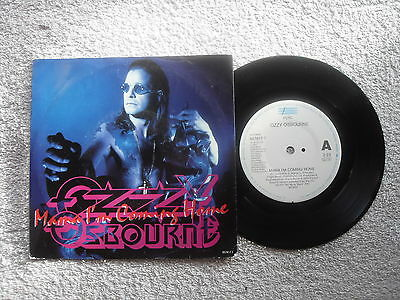 """Ozzy Osbourne Mama I'm Coming Home Epic Records 7"""" Vinyl Single + Picture Sleeve"""