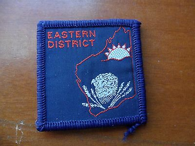 Eastern District Western Australia Scout Cloth Badge  ^