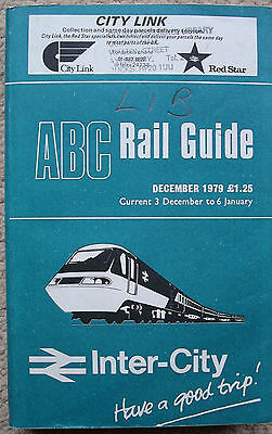 ABC Rail Guide 1979.  Times & Fares London to all GB stations.730 pages