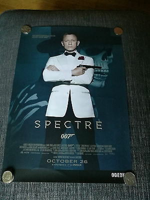 James Bond Poster - 007 Spectre Poster - Odeon Cinema Release