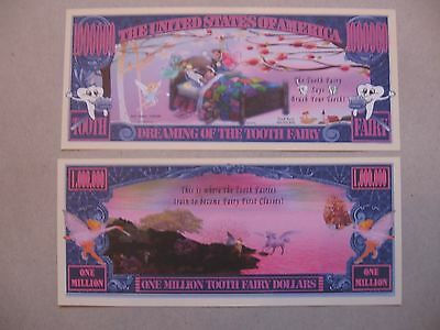 Tooth Fairy Novelty Million Dollar Bill