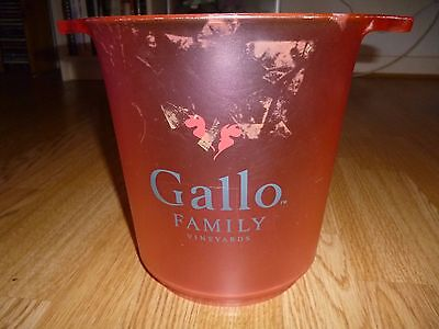 Gallo Family Vineyards Collectable Ice Bucket / Wine Cooler 2005