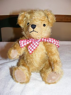 """Dean's Rag Book Teddy Bear LE #0034 out of 1,500 """"Gertrude"""" ~~ Mohair & Jointed"""