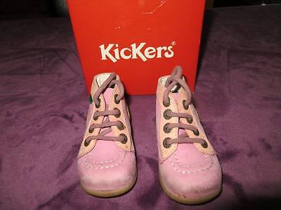 chaussures kickers fille taille 20