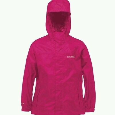 girls 7-8 regatta waterproof jacket