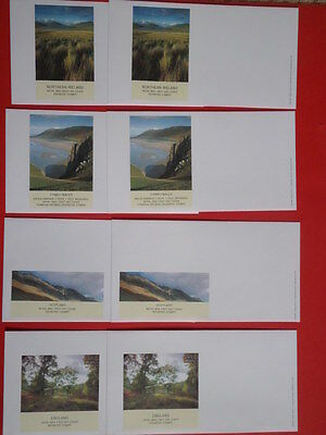 Unused Royal Mail First Day Envelopes - 3 Definitives and 8 Regionals with 9 Sti