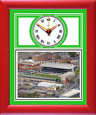 Rugby Clock Leicester Tigers, Welford Road Aerial photo