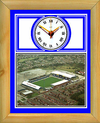 Oldham Athletic Latics Football & Roughyeds Rugby clock