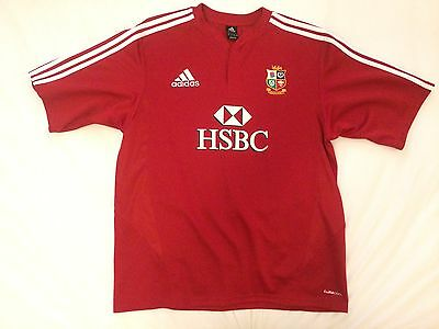 Adidas Four Nations 2009 Lions Jersey Size XL