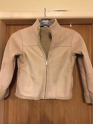 Girls Camel Coat Age 10yrs From Next