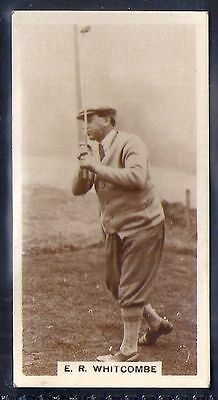 Millhoff-Famous Golfers-#27- Ernest Whitcombe