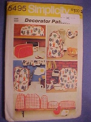 New Simplicity Sewing Pattern ~# 5495 Kitchen Accessories Uncut Free Ship