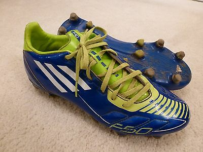 Boys Adidas FSO Blue Rugby Boots. Male UK 7. D015
