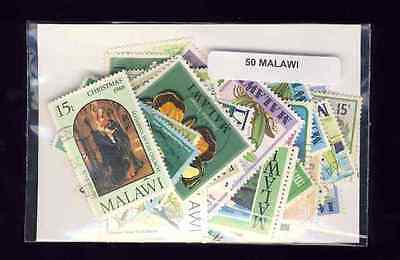 Malawi 50 timbres différents
