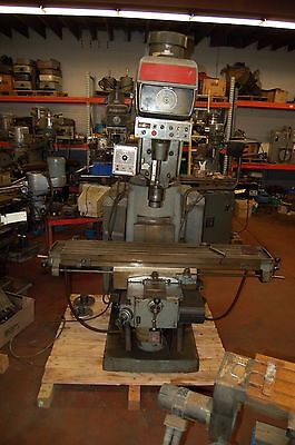 Bridgeport Series Ii Milling Machine